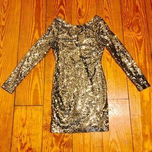 Dresses & Skirts - Sequin Mini Bodycon Dress